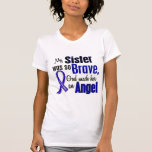 Colon Cancer ANGEL 1 Sister Shirts