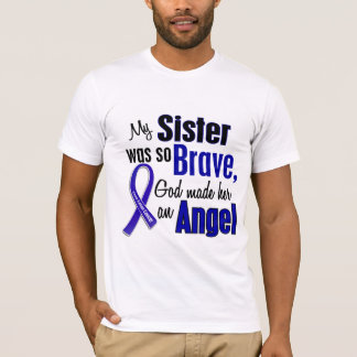 Colon Cancer ANGEL 1 Sister T-Shirt