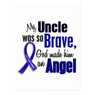Colon Cancer ANGEL 1 Uncle Postcard