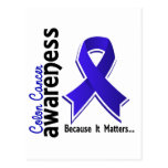 Colon Cancer Awareness 5 Postcards