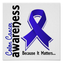 Colon Cancer Awareness 5 Poster