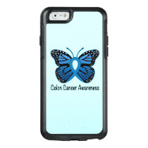Colon Cancer Awareness: Butterfly OtterBox iPhone 6/6s Case