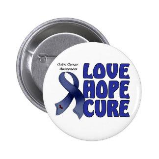 Colon Cancer Awareness Button