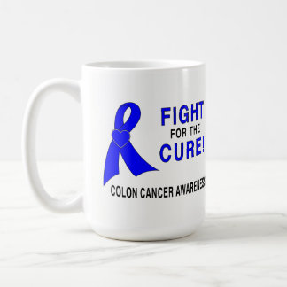 Colon Cancer Awareness: Fight for the Cure! Coffee Mug