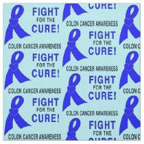 Colon Cancer Awareness: Fight for the Cure! Fabric