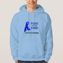 Colon Cancer Awareness: Fight for the Cure! Hoodie