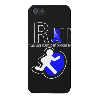 Colon Cancer Awareness I Run iPhone 5 Cases