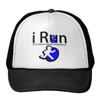 Colon Cancer Awareness I Run Trucker Hat