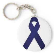 Colon Cancer Awareness Keychain