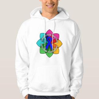 Colon Cancer Awareness Matters Petals Sweatshirts