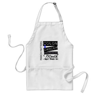 Colon Cancer Awareness Month Aprons
