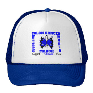 Colon Cancer Awareness Month Hat