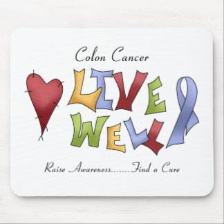 Colon Cancer Awareness Mouse Pad
