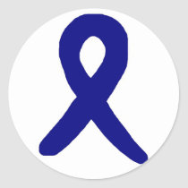 Colon cancer awareness sticker