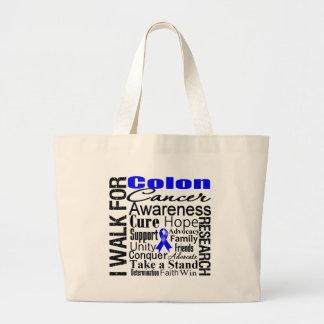 Colon Cancer Awareness Walk Bags