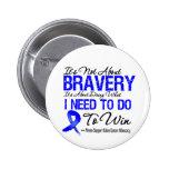 Colon Cancer Battle Pinback Buttons
