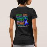 Colon Cancer Believe Strength Determination T Shirt