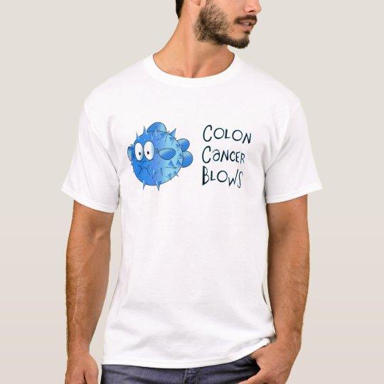 Colon Cancer Blows T-Shirt
