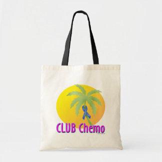 Colon Cancer (blue) Budget Tote Bag