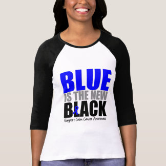 Colon Cancer Blue is The New Black T-Shirt