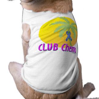 Colon Cancer (blue) Pet Tee Shirt