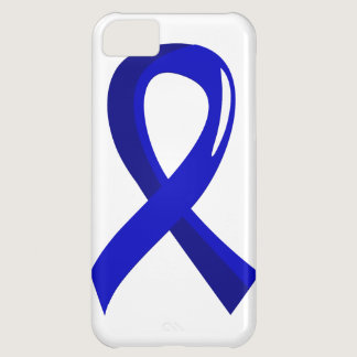 Colon Cancer Blue Ribbon 3 Cover For iPhone 5C