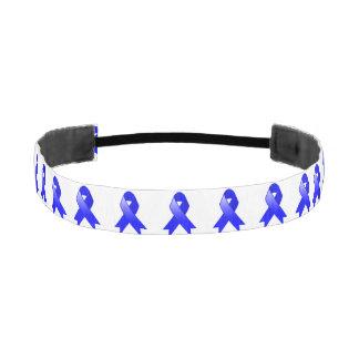 Colon Cancer Blue Ribbon Athletic Headbands