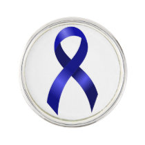 Colon Cancer Blue Ribbon Pin