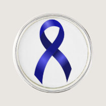 Colon Cancer Blue Ribbon Pin
