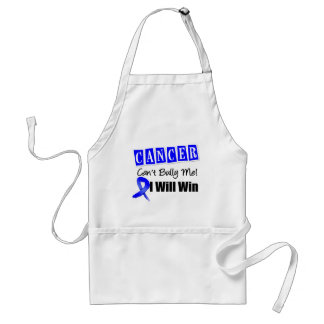 Colon Cancer Cant Bully Me I Will Win Apron