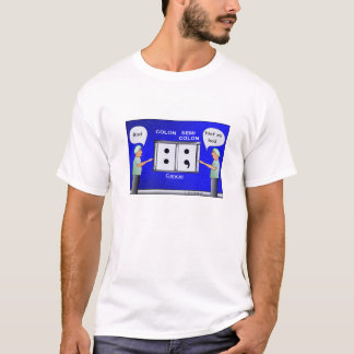 Colon Cancer Cartoon T-shirt