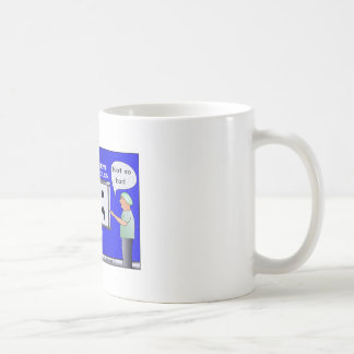 Colon Cancer Cartoon T-shirt Coffee Mug
