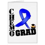 Colon Cancer Chemo Grad Card