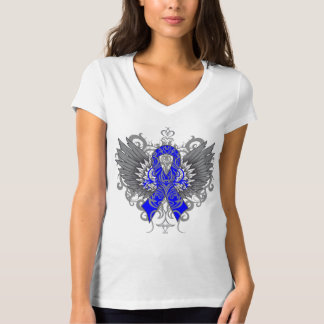 Colon Cancer Cool Wings Tshirts