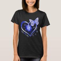 colon cancer cross gift warrior T-Shirt