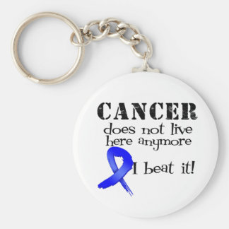 Colon Cancer Does Not Live Here Anymore Key Chains