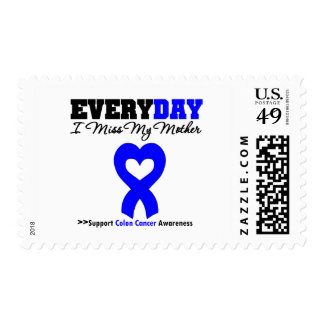 Colon Cancer Every Day I Miss My Mother Postage Stamps