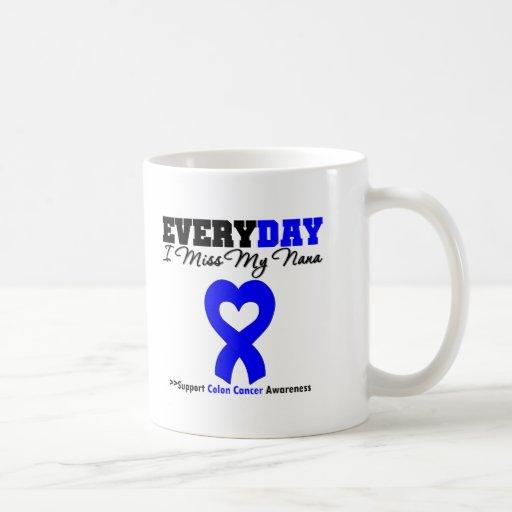 Colon Cancer Every Day I Miss My Nana Coffee Mugs