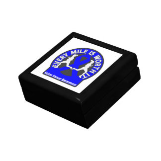 Colon Cancer Every Mile Is Worth It Gift Box