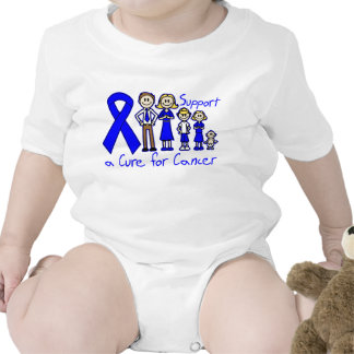 Colon Cancer Family Support A Cure T-shirts