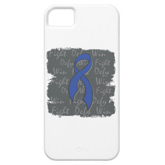 Colon Cancer Fight Defy Win iPhone 5 Covers