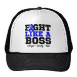 Colon Cancer Fight Like a Boss Trucker Hat