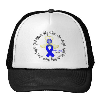 Colon Cancer God Made My Hero An Angel Trucker Hats