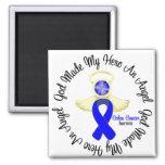 Colon Cancer God Made My Hero An Angel Refrigerator Magnet