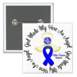 Colon Cancer God Made My Hero An Angel Pin