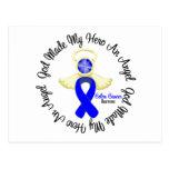 Colon Cancer God Made My Hero An Angel Postcard