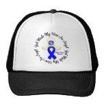 Colon Cancer God Made My Hero An Angel Trucker Hat
