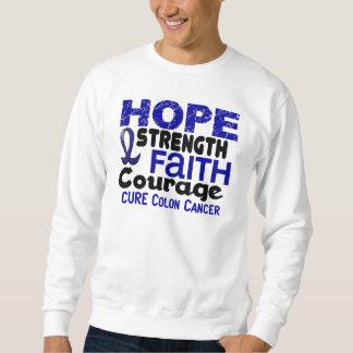 Colon Cancer HOPE 3 Sweatshirt