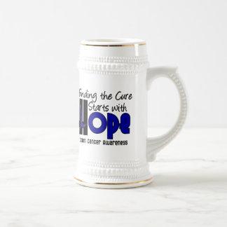 Colon Cancer HOPE 4 18 Oz Beer Stein