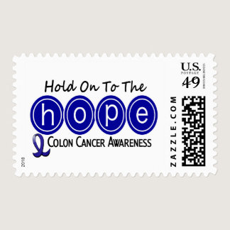 Colon Cancer HOPE 6 Postage